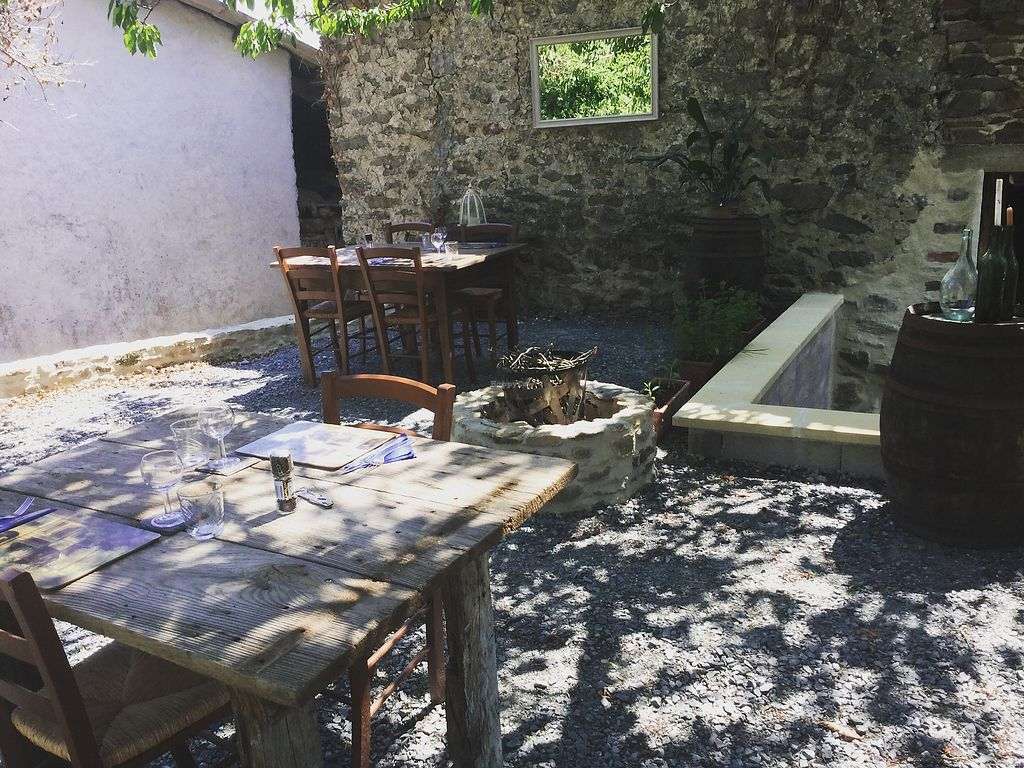 """Photo of The Hidden Veggie Kitchen  by <a href=""""/members/profile/veggiekitchenfr"""">veggiekitchenfr</a> <br/>Our pretty terrace area  <br/> July 23, 2017  - <a href='/contact/abuse/image/78159/283807'>Report</a>"""