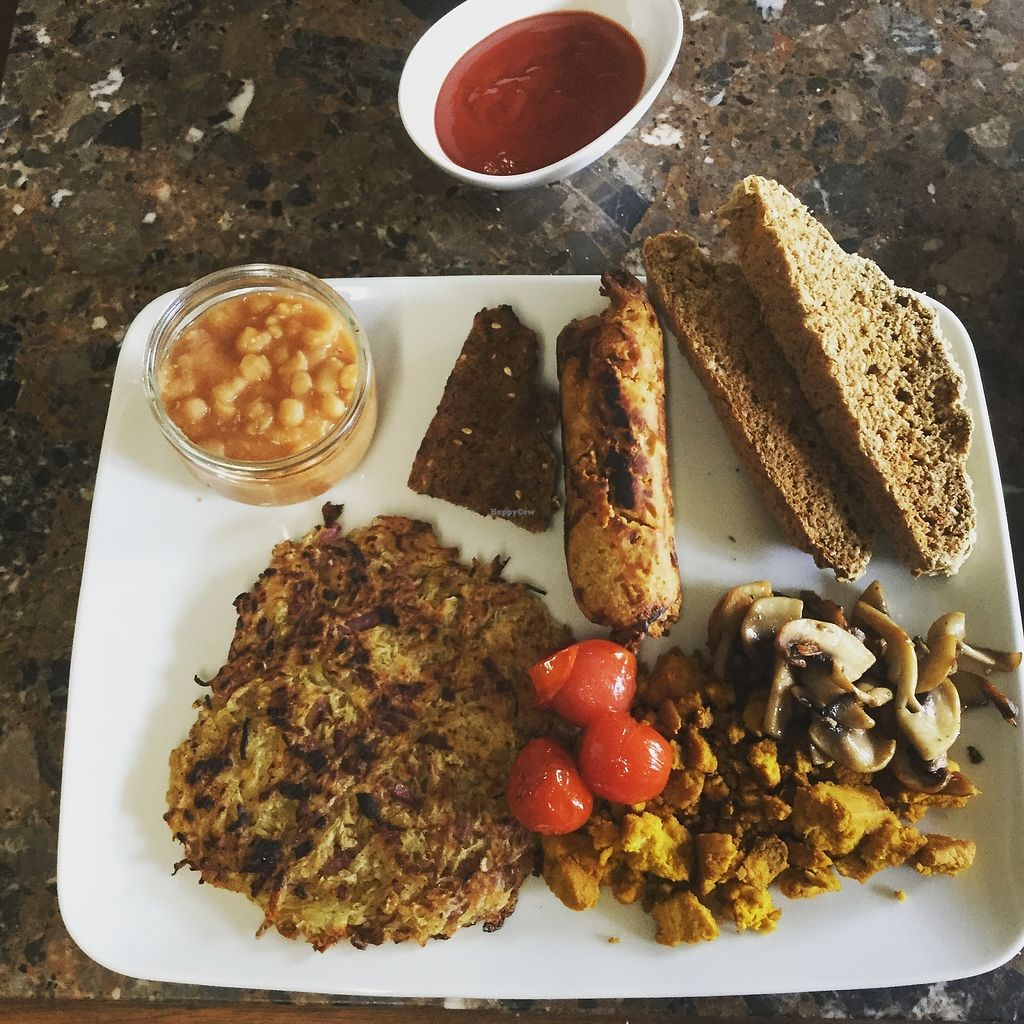 """Photo of The Hidden Veggie Kitchen  by <a href=""""/members/profile/veggiekitchenfr"""">veggiekitchenfr</a> <br/>Our Vegan Monster Brunch  <br/> July 23, 2017  - <a href='/contact/abuse/image/78159/283808'>Report</a>"""