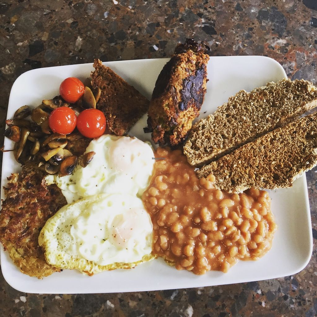 """Photo of The Hidden Veggie Kitchen  by <a href=""""/members/profile/veggiekitchenfr"""">veggiekitchenfr</a> <br/>Our vegetarian monster brunch  <br/> July 23, 2017  - <a href='/contact/abuse/image/78159/283809'>Report</a>"""