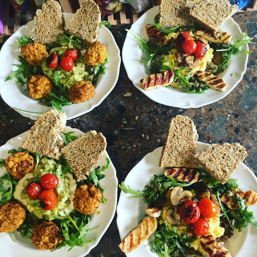 """Photo of The Hidden Veggie Kitchen  by <a href=""""/members/profile/veggiekitchenfr"""">veggiekitchenfr</a> <br/>Our Vegan Hash and Veggie Hash, available for our tasty brunch menu  <br/> July 23, 2017  - <a href='/contact/abuse/image/78159/283810'>Report</a>"""