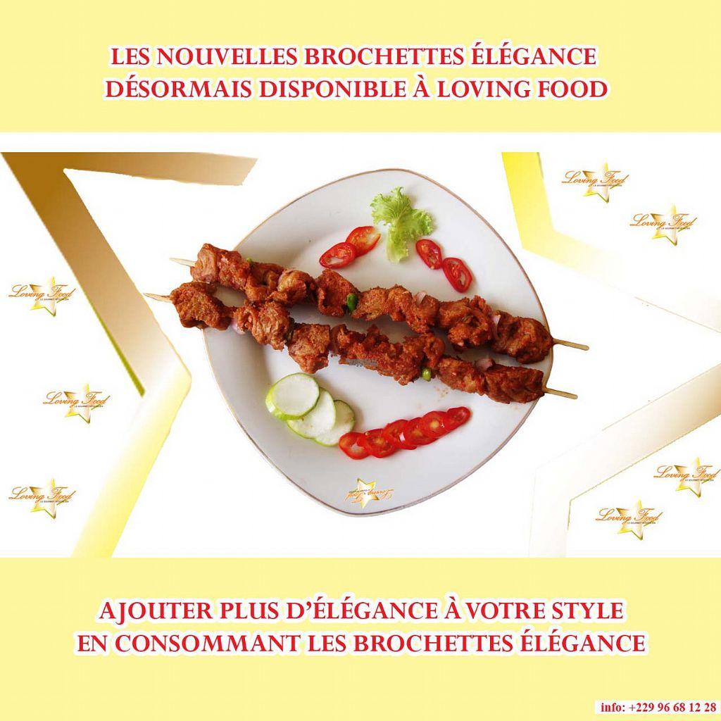 """Photo of Loving Food  by <a href=""""/members/profile/lovingfoodbenin"""">lovingfoodbenin</a> <br/>Vegan BBQ, Brochette vegetalienne, partarger avec vos amis la joie d""""une brochette remplie d'élégance <br/> August 24, 2016  - <a href='/contact/abuse/image/78169/171260'>Report</a>"""