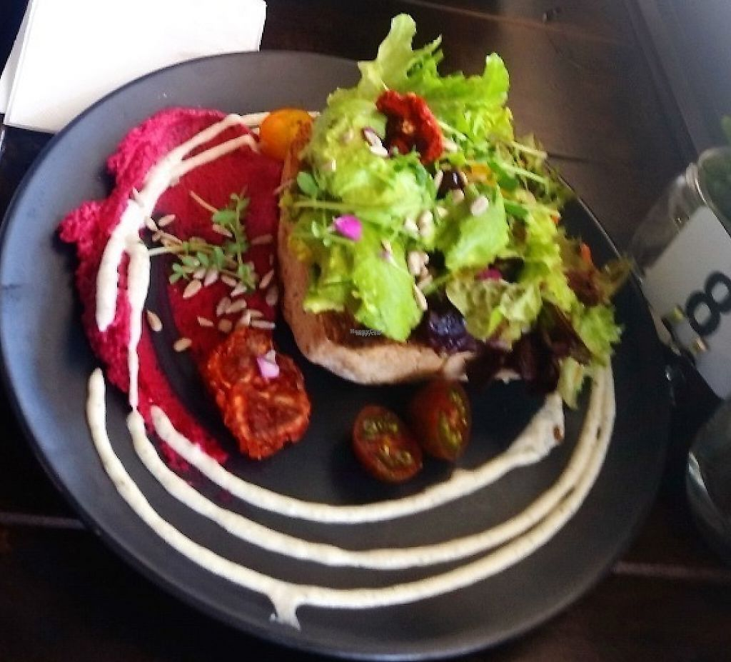"""Photo of Mr Black Juicery  by <a href=""""/members/profile/NJ220"""">NJ220</a> <br/>Avocado on Toast, the Sushi Bowl and the Dip Bowl <br/> January 30, 2017  - <a href='/contact/abuse/image/78188/256066'>Report</a>"""