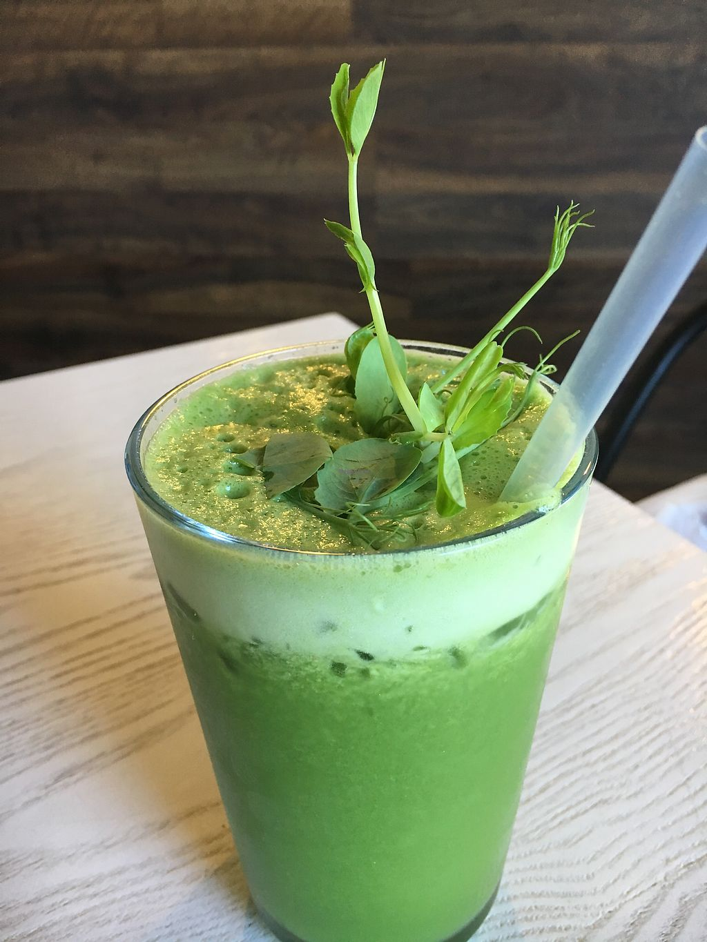 """Photo of Mr Black Juicery  by <a href=""""/members/profile/VeganBec"""">VeganBec</a> <br/>Green Smoothie <br/> December 16, 2017  - <a href='/contact/abuse/image/78188/335964'>Report</a>"""