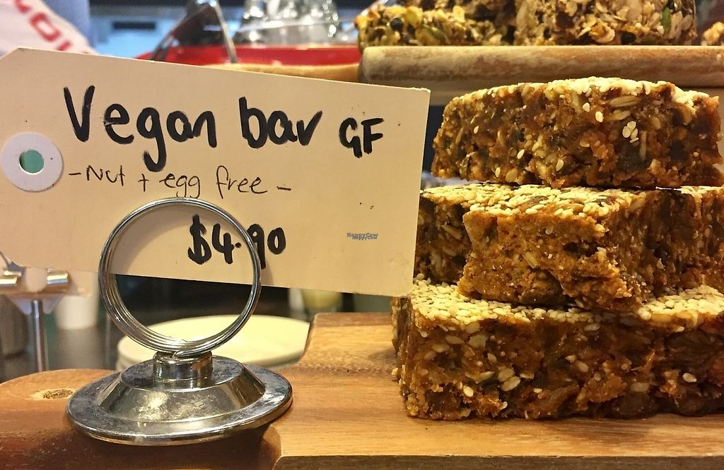 """Photo of Chosen Bean Cafe & Coffee Roaster  by <a href=""""/members/profile/karlaess"""">karlaess</a> <br/>Vegan bar <br/> November 27, 2016  - <a href='/contact/abuse/image/78192/195017'>Report</a>"""