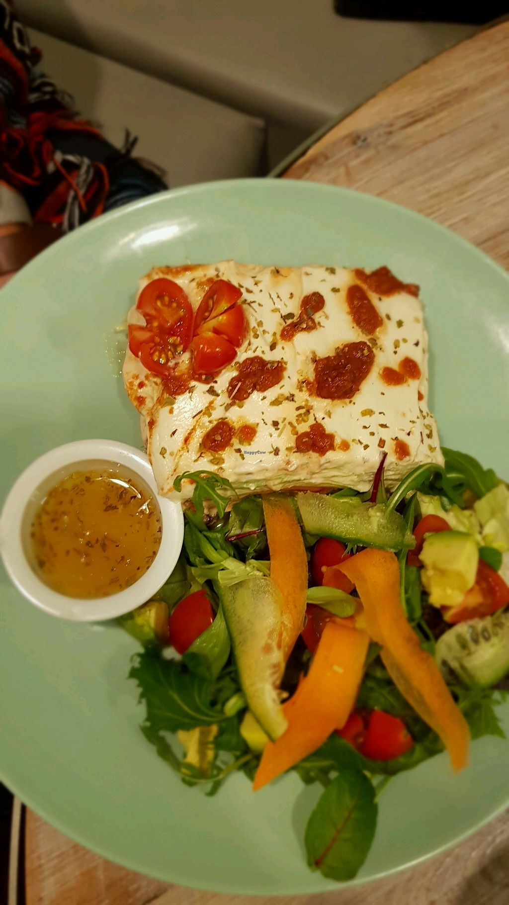 """Photo of Paradise Unbakery  by <a href=""""/members/profile/CarlocoIsVegan"""">CarlocoIsVegan</a> <br/>Raw lasagne (my fave) <br/> January 11, 2018  - <a href='/contact/abuse/image/78199/345486'>Report</a>"""