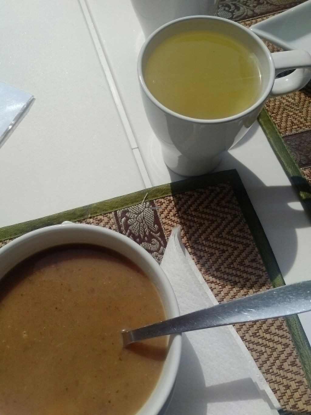 """Photo of Raw - Comida & Granel  by <a href=""""/members/profile/AvivaCohen"""">AvivaCohen</a> <br/>soup of the day <br/> April 11, 2017  - <a href='/contact/abuse/image/78201/247134'>Report</a>"""