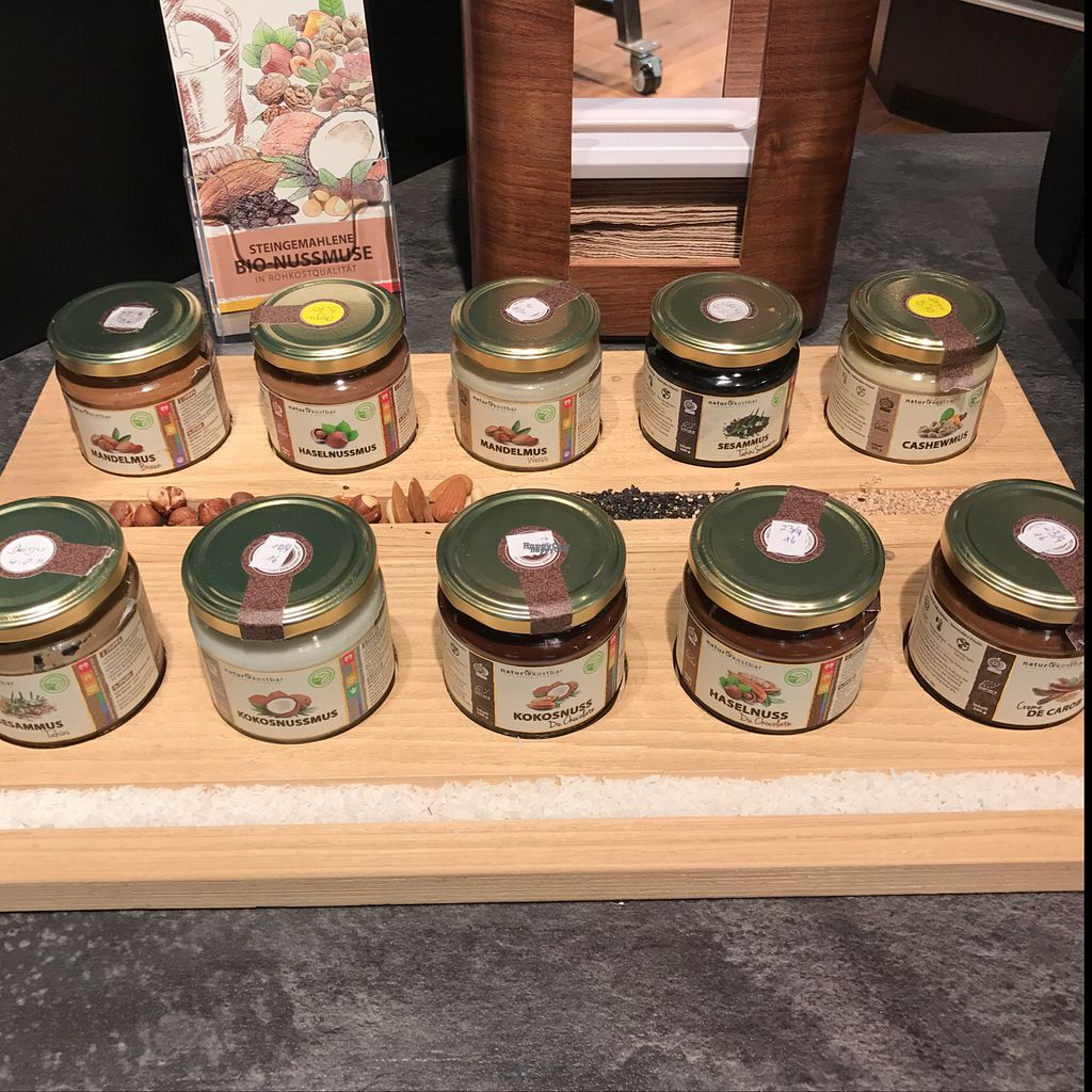 """Photo of Naturkostbar  by <a href=""""/members/profile/earthville"""">earthville</a> <br/>Cocoa and nut butters <br/> October 6, 2016  - <a href='/contact/abuse/image/78218/179996'>Report</a>"""