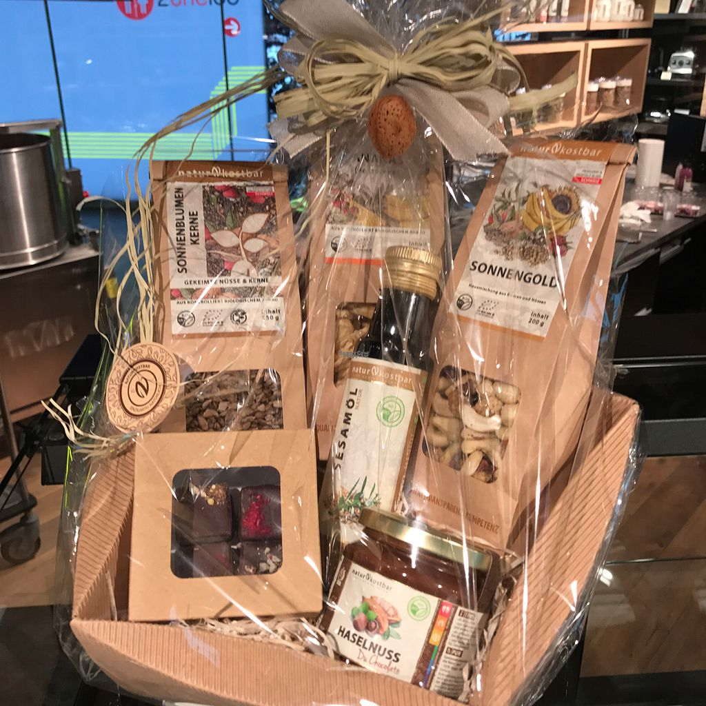 """Photo of Naturkostbar  by <a href=""""/members/profile/earthville"""">earthville</a> <br/>gift packs <br/> October 6, 2016  - <a href='/contact/abuse/image/78218/180000'>Report</a>"""