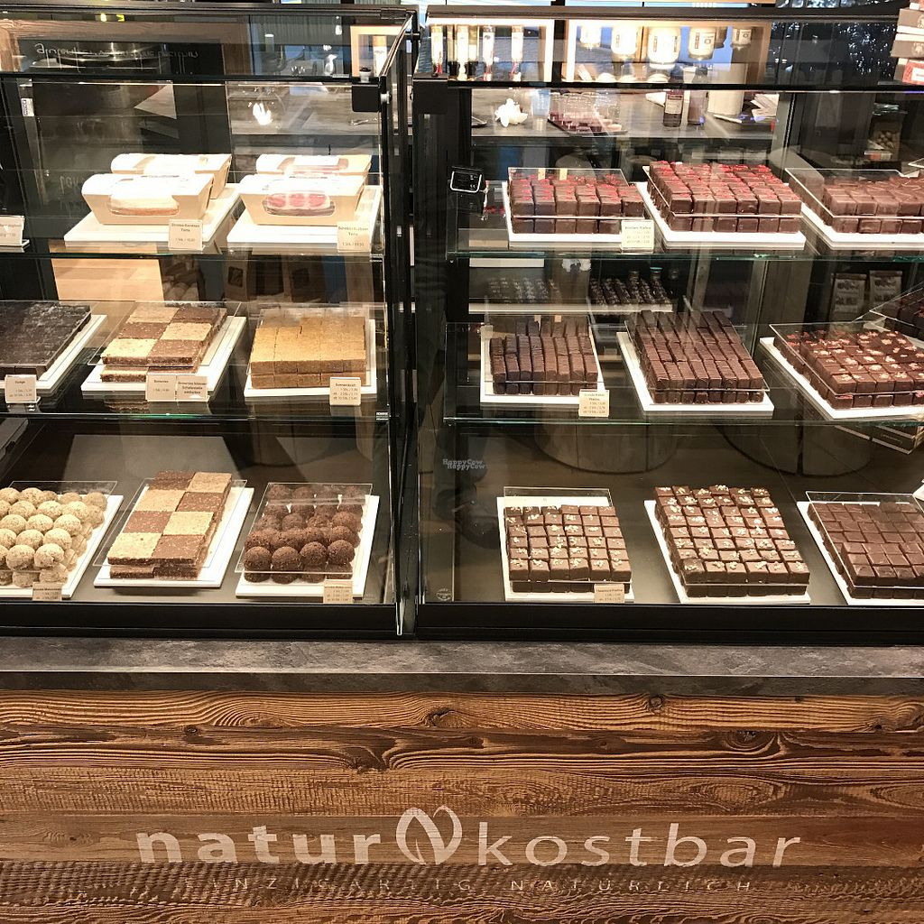 """Photo of Naturkostbar  by <a href=""""/members/profile/earthville"""">earthville</a> <br/>Can you believe it's all vegan?! <br/> October 6, 2016  - <a href='/contact/abuse/image/78218/180001'>Report</a>"""