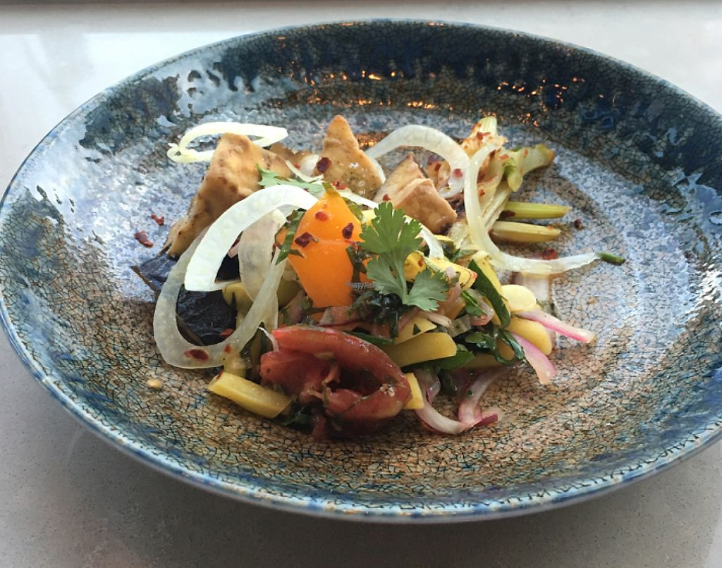 "Photo of EVO Restaurant and Bar  by <a href=""/members/profile/iamrunningthis"">iamrunningthis</a> <br/>roasted eggplant and fennel salad <br/> August 8, 2016  - <a href='/contact/abuse/image/78225/201496'>Report</a>"