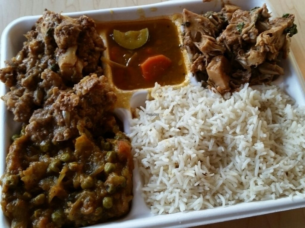 """Photo of Samosa House  by <a href=""""/members/profile/eric"""">eric</a> <br/>combo plate <br/> August 11, 2016  - <a href='/contact/abuse/image/78232/167578'>Report</a>"""