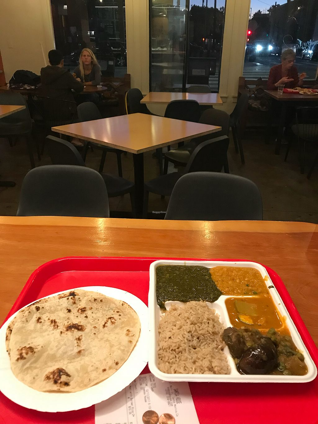 """Photo of Samosa House  by <a href=""""/members/profile/YahelSherman"""">YahelSherman</a> <br/>Yammi vegan food <br/> December 18, 2017  - <a href='/contact/abuse/image/78232/336702'>Report</a>"""