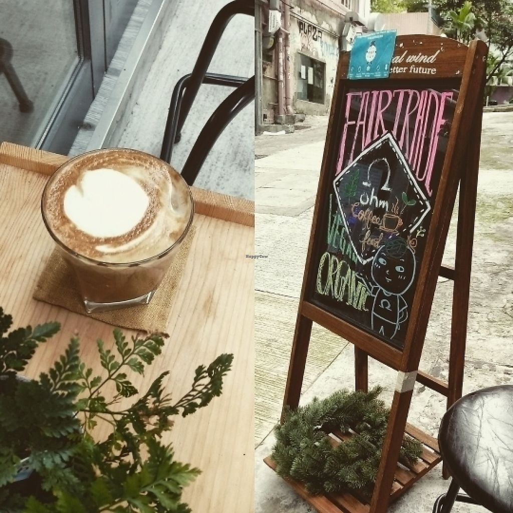 """Photo of Ohms Cafe & Bar  by <a href=""""/members/profile/SzeC"""">SzeC</a> <br/>Hazelnut cappuccino <br/> June 1, 2017  - <a href='/contact/abuse/image/78252/264709'>Report</a>"""