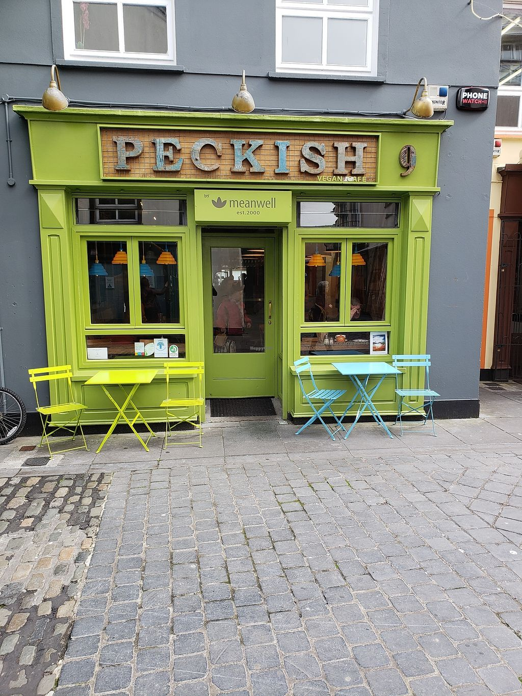 """Photo of Peckish Cafe  by <a href=""""/members/profile/reuvenk"""">reuvenk</a> <br/>Peckish cafe, Ennis, Ireland <br/> April 17, 2018  - <a href='/contact/abuse/image/78253/387081'>Report</a>"""
