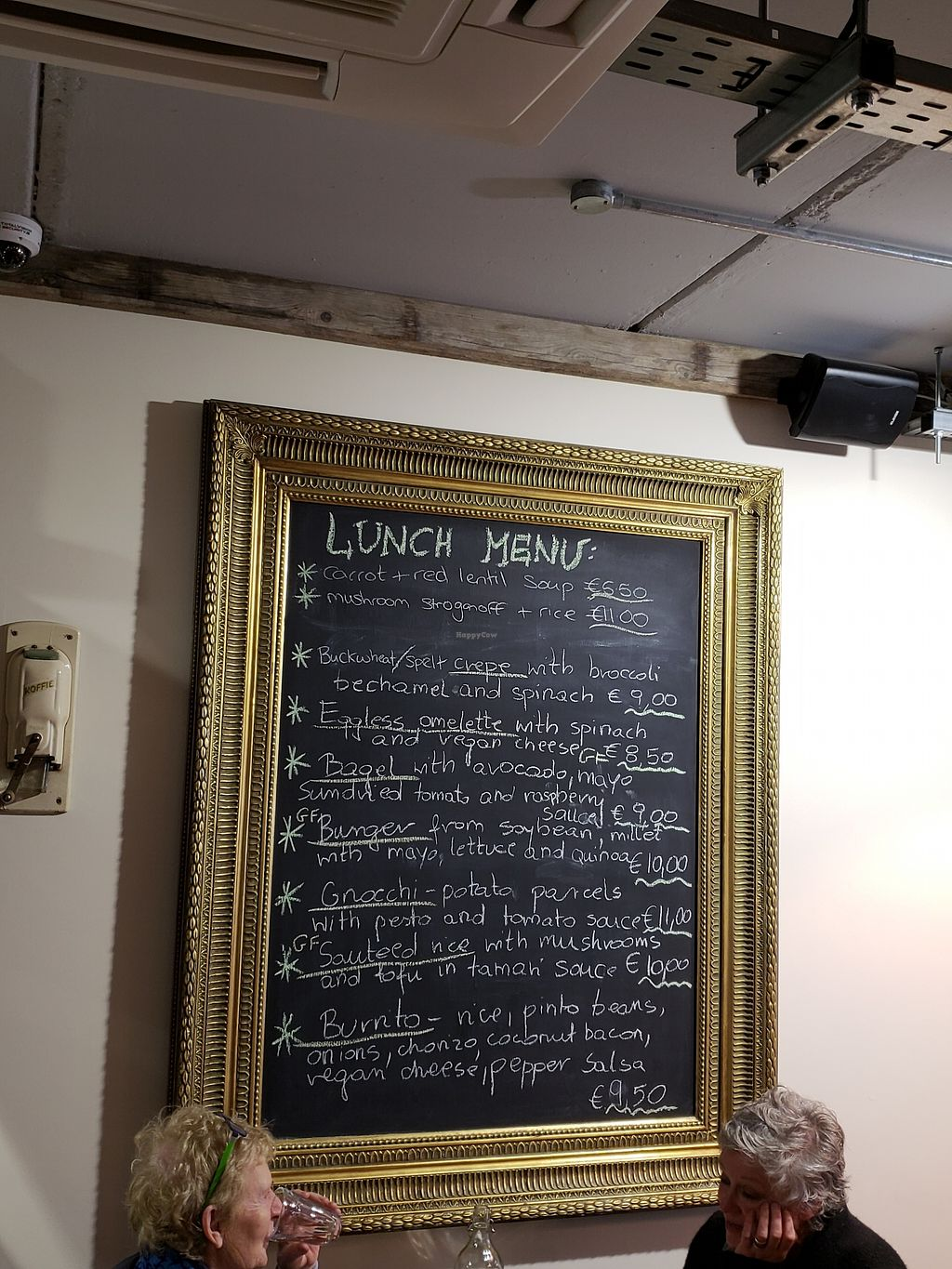 """Photo of Peckish Cafe  by <a href=""""/members/profile/reuvenk"""">reuvenk</a> <br/>Lunch menu at the Peckish cafe, Ennis, Ireland <br/> April 17, 2018  - <a href='/contact/abuse/image/78253/387082'>Report</a>"""