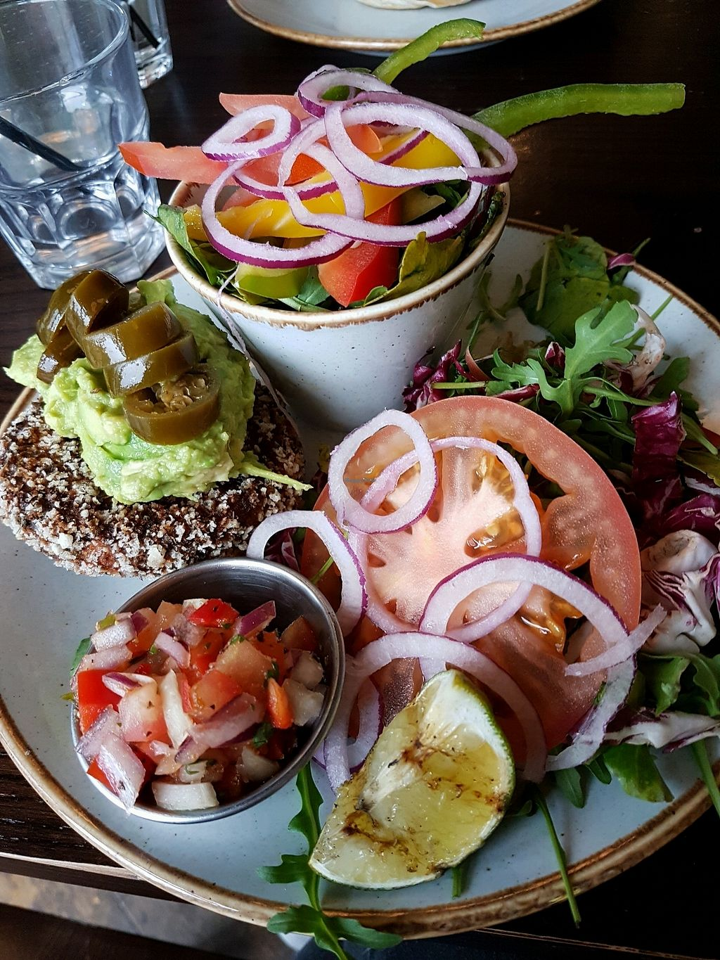 """Photo of Handmade Burger Company - Bullring  by <a href=""""/members/profile/Hoggy"""">Hoggy</a> <br/>Bunless Veg-Mex <br/> January 13, 2018  - <a href='/contact/abuse/image/78254/346187'>Report</a>"""