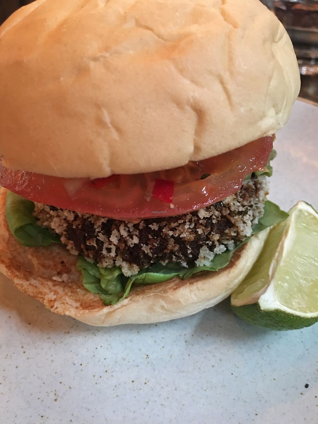 "Photo of Handmade Burger Co.  by <a href=""/members/profile/BrooklebeexD"">BrooklebeexD</a> <br/>Veg Mex Burger <br/> October 17, 2017  - <a href='/contact/abuse/image/78255/316117'>Report</a>"