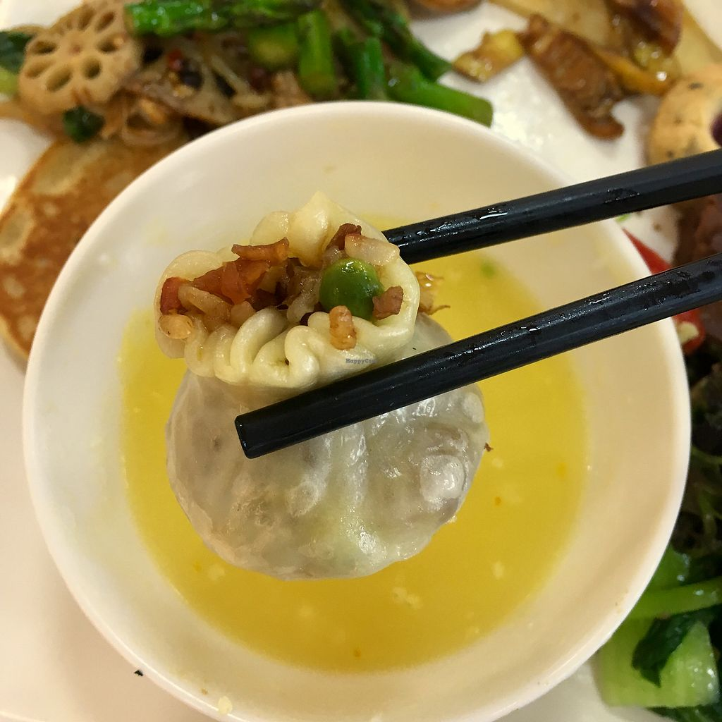 "Photo of Su Qing Chun Vegan  by <a href=""/members/profile/DanaCui"">DanaCui</a> <br/>Steamed Dumpling <br/> April 7, 2018  - <a href='/contact/abuse/image/78267/381815'>Report</a>"
