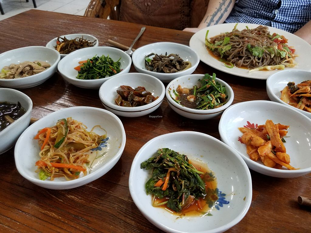 """Photo of Jayeonneuro  by <a href=""""/members/profile/HannahP96"""">HannahP96</a> <br/>Tomato noodles and side dishes <br/> May 14, 2018  - <a href='/contact/abuse/image/78269/399511'>Report</a>"""