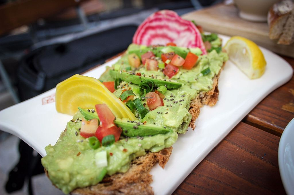 """Photo of Le Pain Quotidien - The Avenue  by <a href=""""/members/profile/SueClesh"""">SueClesh</a> <br/>avocado toast <br/> October 30, 2017  - <a href='/contact/abuse/image/78274/319999'>Report</a>"""