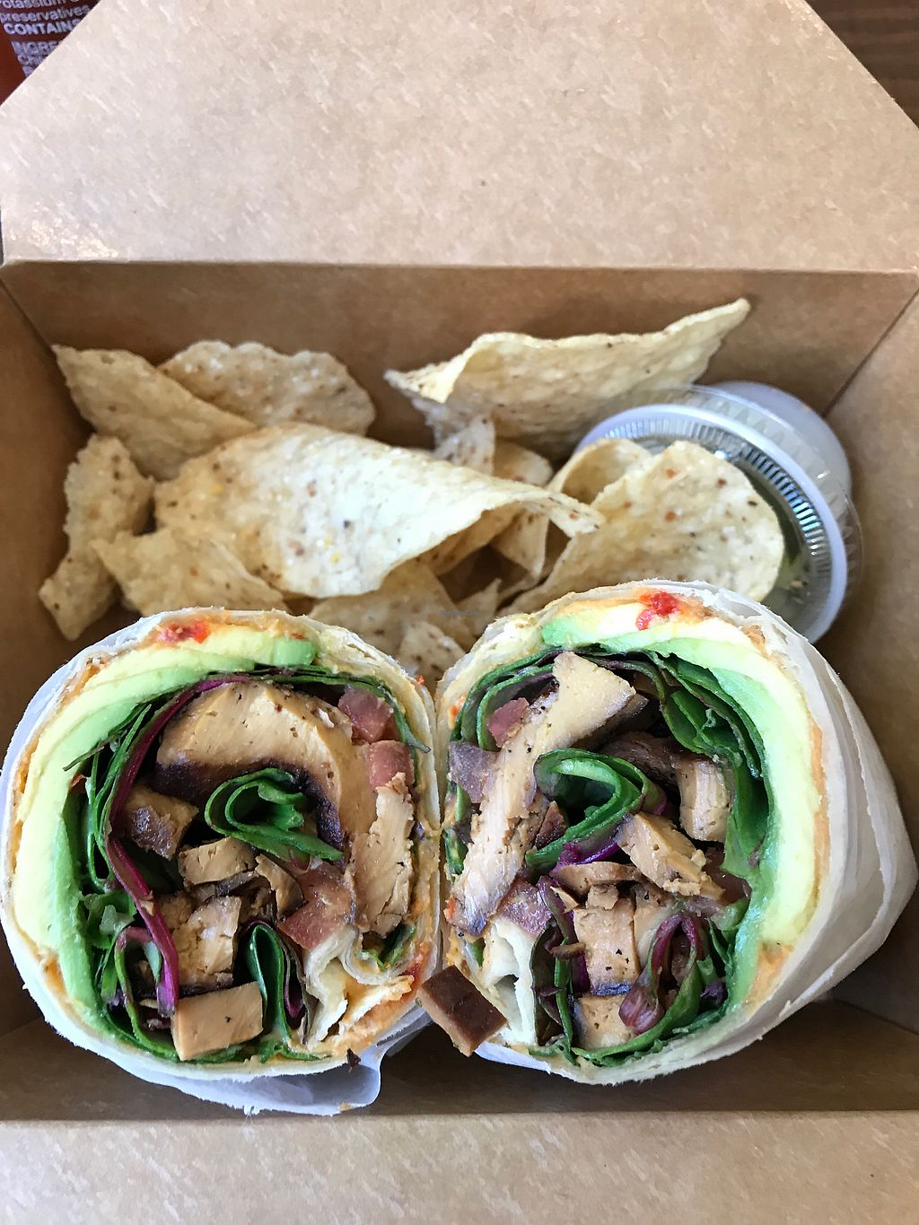 "Photo of Cafe Square One   by <a href=""/members/profile/BrittanyBeck"">BrittanyBeck</a> <br/>tofu veggie wrap <br/> March 24, 2018  - <a href='/contact/abuse/image/78286/375468'>Report</a>"