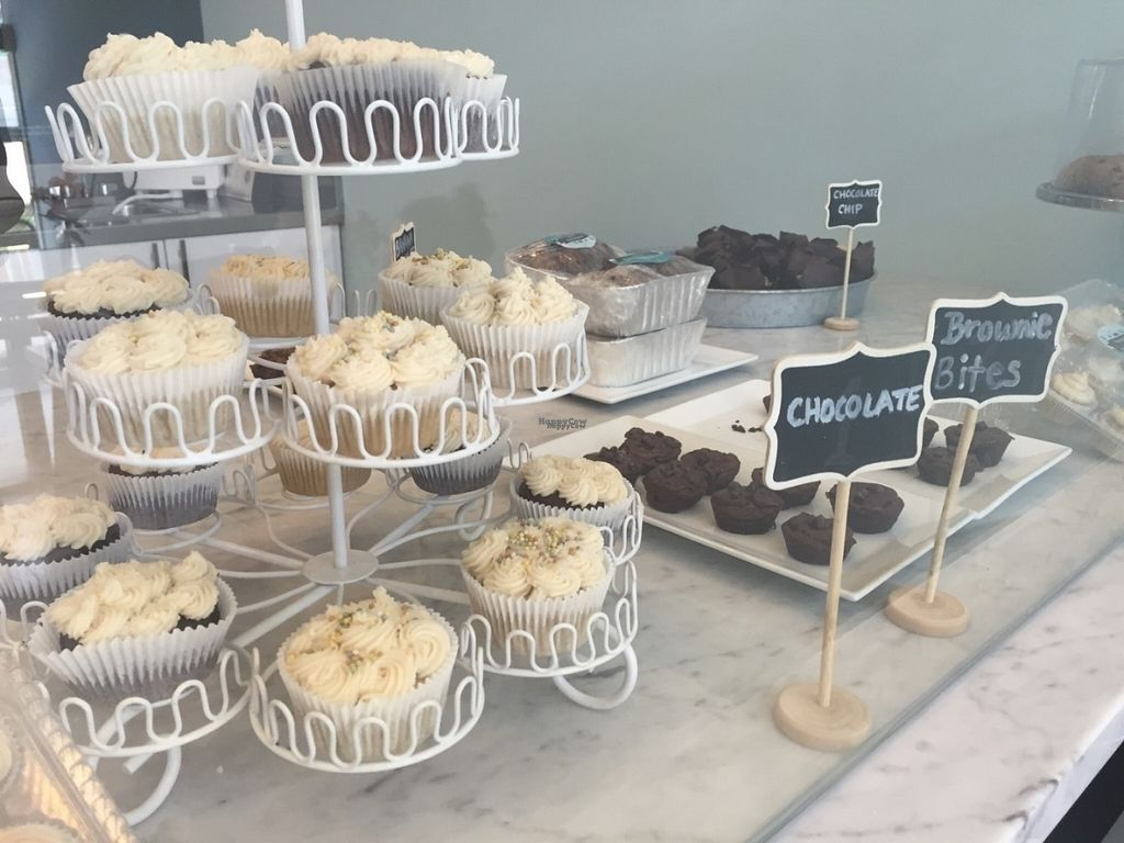 """Photo of Blondie's Vegan  by <a href=""""/members/profile/Heavenly"""">Heavenly</a> <br/>Our organic vegan gluten free cupcakes.  <br/> August 9, 2016  - <a href='/contact/abuse/image/78289/167109'>Report</a>"""