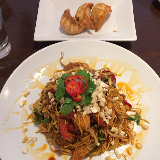 "Photo of NoodleOne  by <a href=""/members/profile/LittleAliceFell"">LittleAliceFell</a> <br/>Tofu Chilli Yakisoba & Vegetable Gyoza <br/> October 8, 2016  - <a href='/contact/abuse/image/78347/180706'>Report</a>"