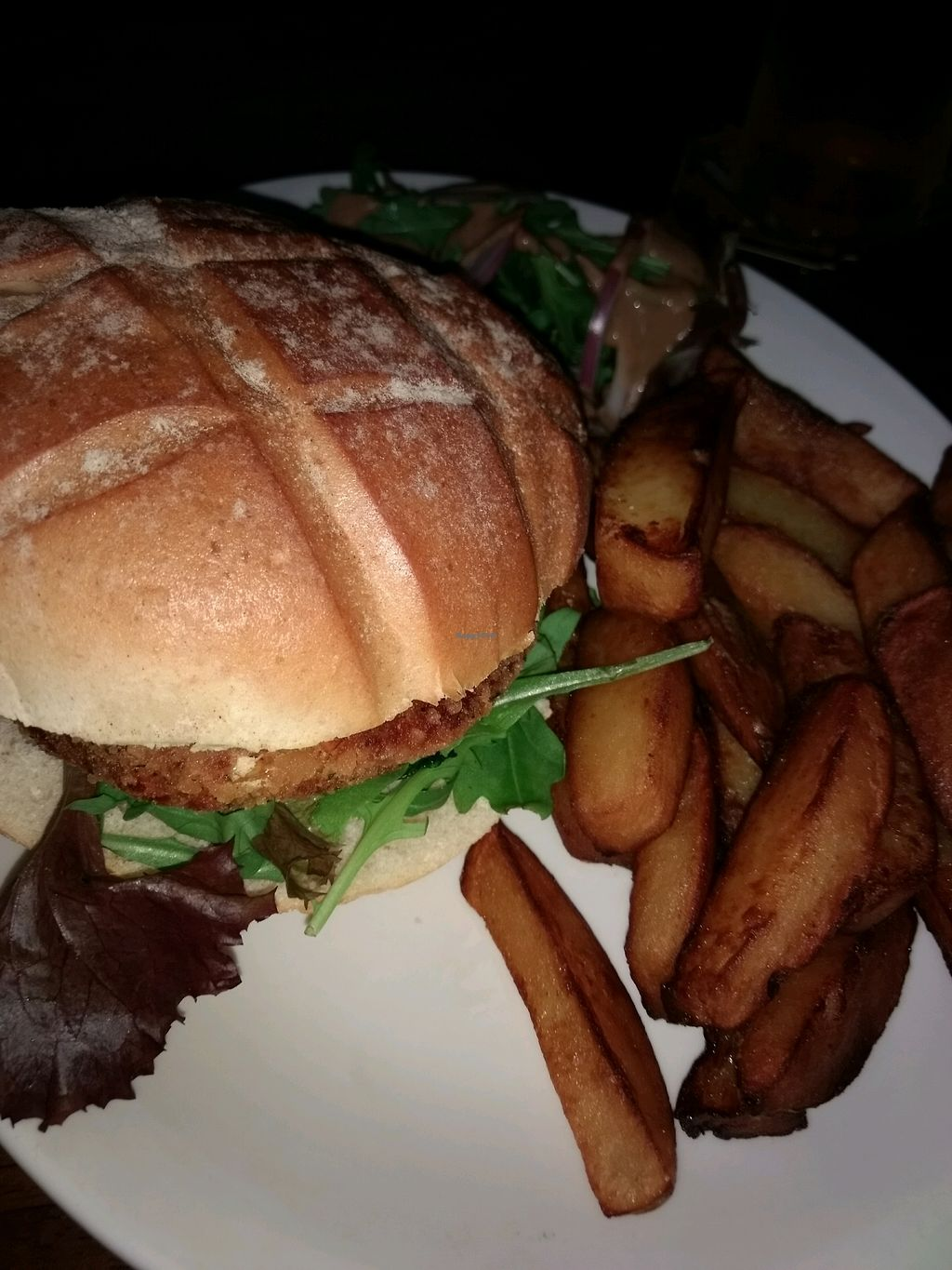 "Photo of The Central Bar  by <a href=""/members/profile/craigmc"">craigmc</a> <br/>burger and chips <br/> August 21, 2017  - <a href='/contact/abuse/image/78393/295307'>Report</a>"