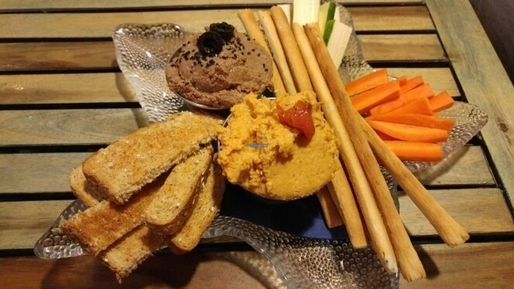 """Photo of Embolic  by <a href=""""/members/profile/Dobarganes"""">Dobarganes</a> <br/>Hummus de aceitunas negras y de tomate seco <br/> August 9, 2016  - <a href='/contact/abuse/image/78398/167336'>Report</a>"""