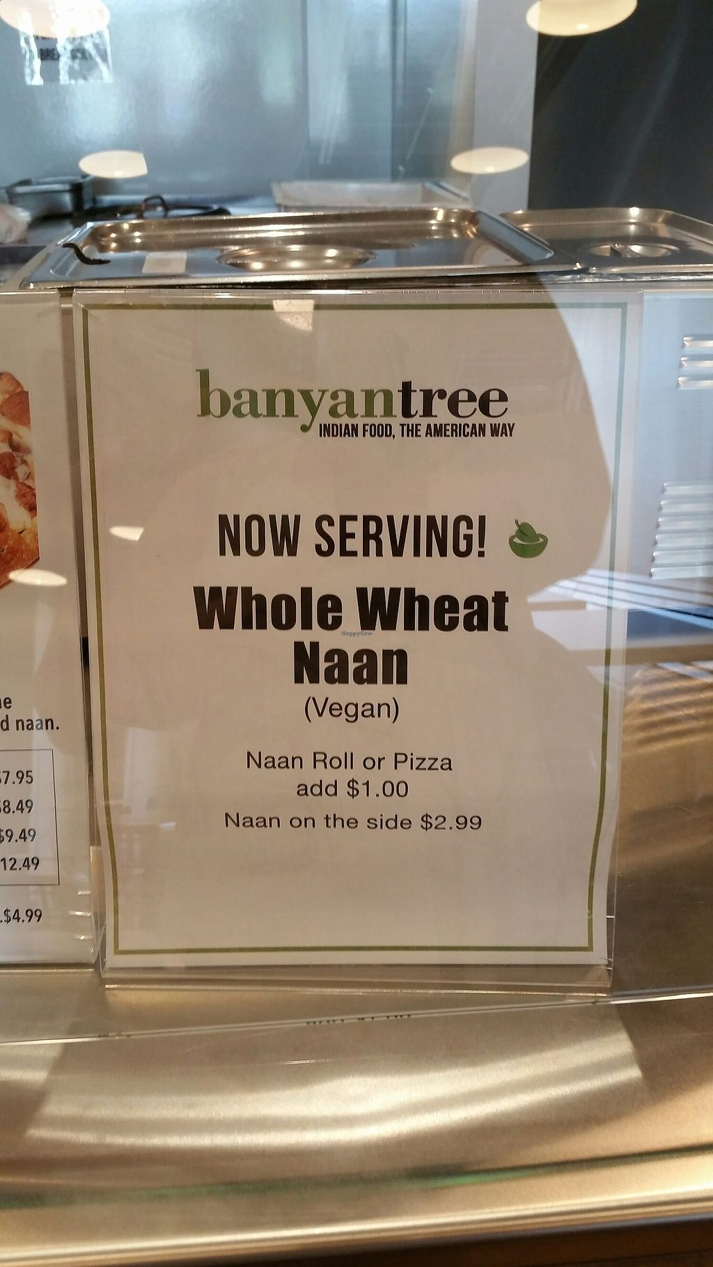 """Photo of Banyan Tree South Asian Grill  by <a href=""""/members/profile/TheCopperValkyrie"""">TheCopperValkyrie</a> <br/>whole wheat naan! <br/> August 1, 2017  - <a href='/contact/abuse/image/78407/287699'>Report</a>"""