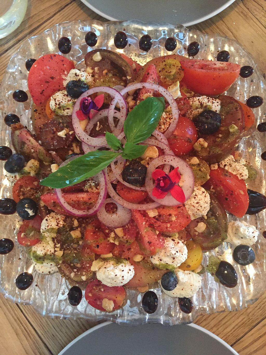 "Photo of Gusto Ristobar  by <a href=""/members/profile/lmd06"">lmd06</a> <br/>Tomato and cashew cheese salad  <br/> September 22, 2017  - <a href='/contact/abuse/image/78419/307220'>Report</a>"