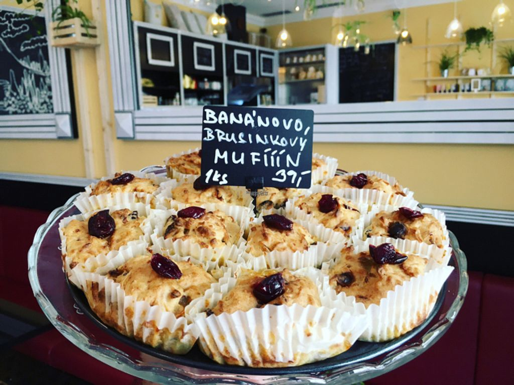 """Photo of GF Cafe  by <a href=""""/members/profile/GFCAFE"""">GFCAFE</a> <br/>GF MUFIIIN :))) BANANA CRANBERRY <br/> August 11, 2016  - <a href='/contact/abuse/image/78460/167593'>Report</a>"""