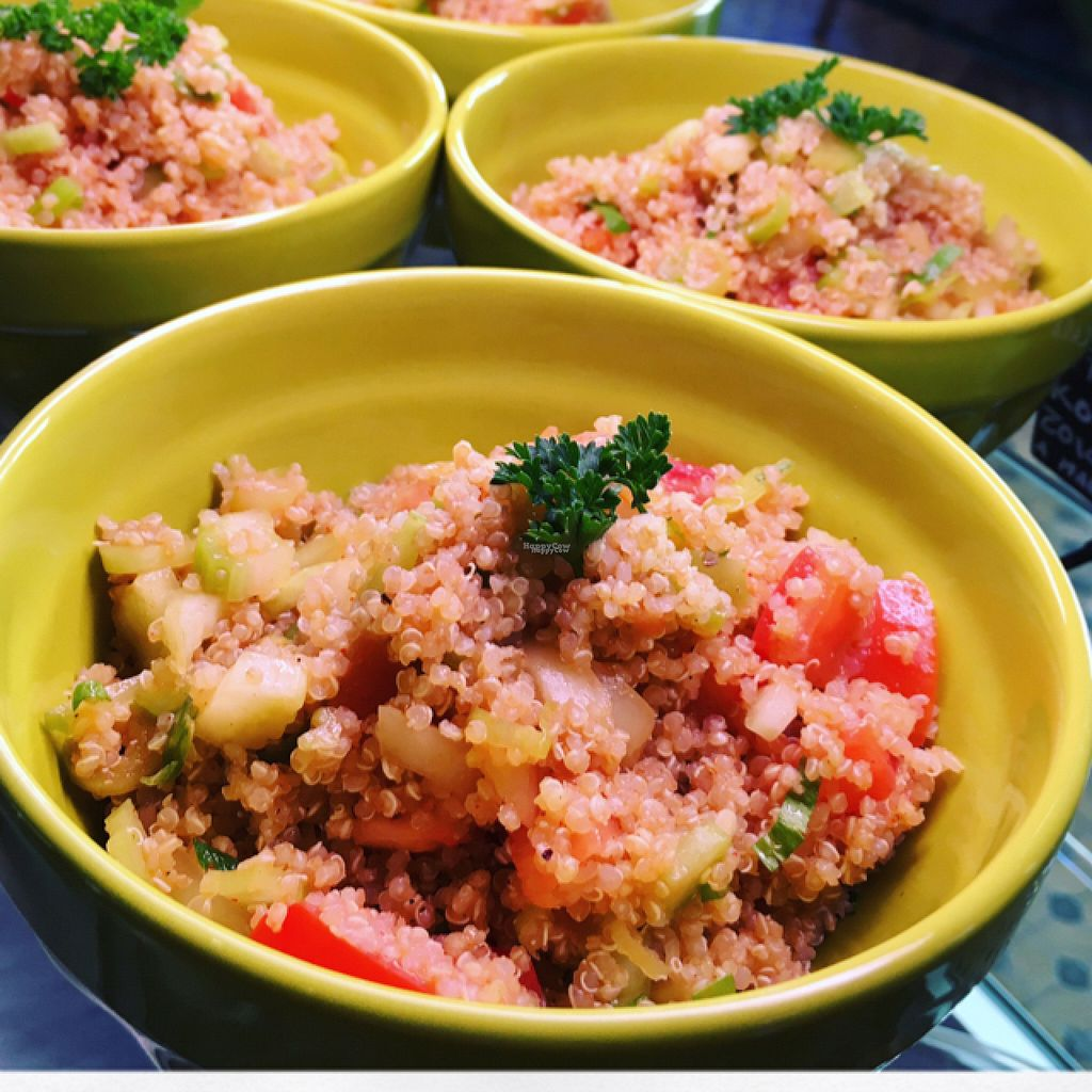 """Photo of GF Cafe  by <a href=""""/members/profile/GFCAFE"""">GFCAFE</a> <br/>Quinoa salad #glutenfree #vegan  <br/> August 18, 2016  - <a href='/contact/abuse/image/78460/169683'>Report</a>"""