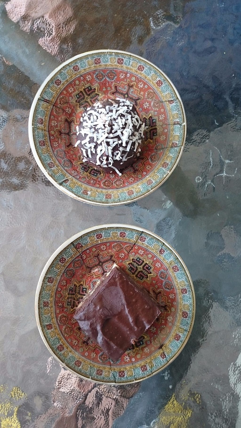 "Photo of Hairy Lentil  by <a href=""/members/profile/Cynthia1998"">Cynthia1998</a> <br/>The raw vegan treats! Top is a St Nic's ball and bottom is musk brownie <br/> December 8, 2016  - <a href='/contact/abuse/image/78486/198144'>Report</a>"