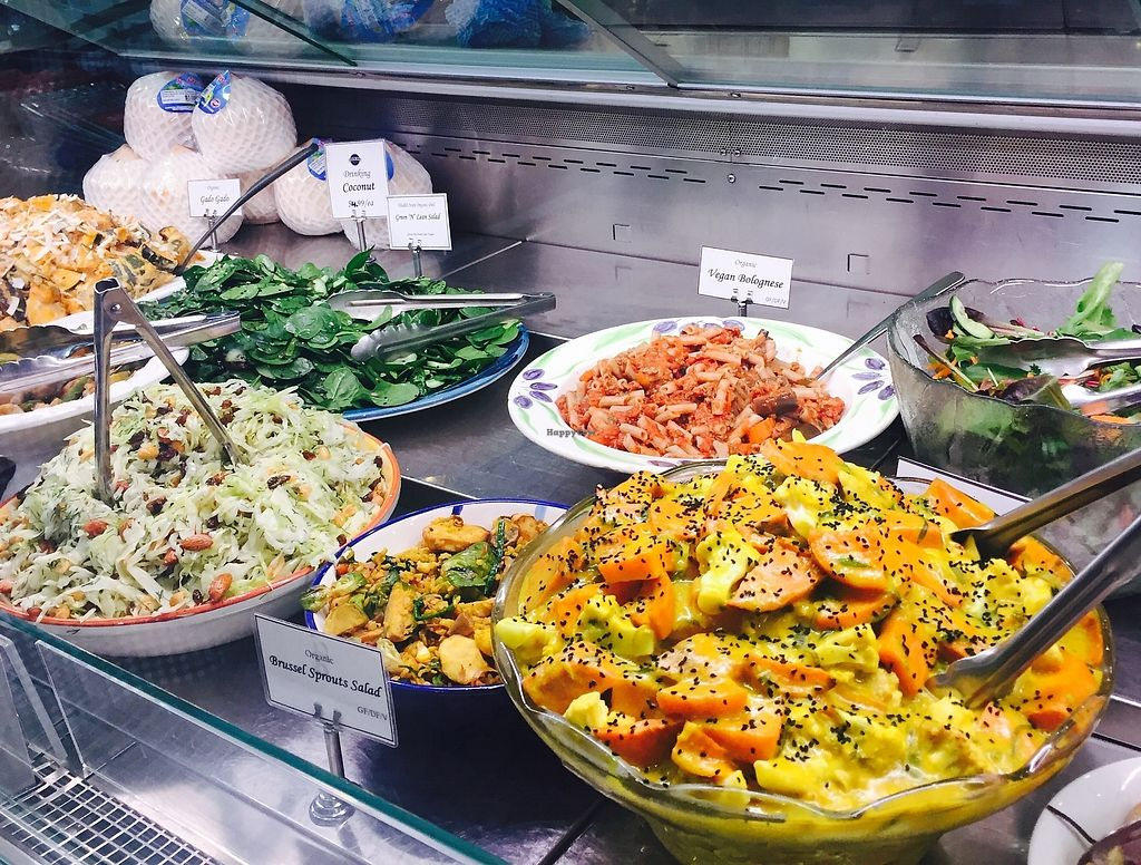 "Photo of Health Nuts Shop & Cafe  by <a href=""/members/profile/karlaess"">karlaess</a> <br/>Fresh salads <br/> August 12, 2017  - <a href='/contact/abuse/image/78492/291752'>Report</a>"
