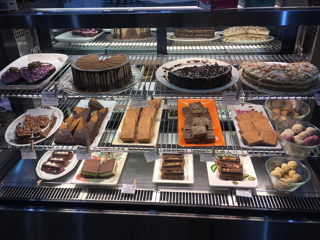 "Photo of Health Nuts Shop & Cafe  by <a href=""/members/profile/meianma"">meianma</a> <br/>Vegan cake selection <br/> March 1, 2018  - <a href='/contact/abuse/image/78492/365482'>Report</a>"