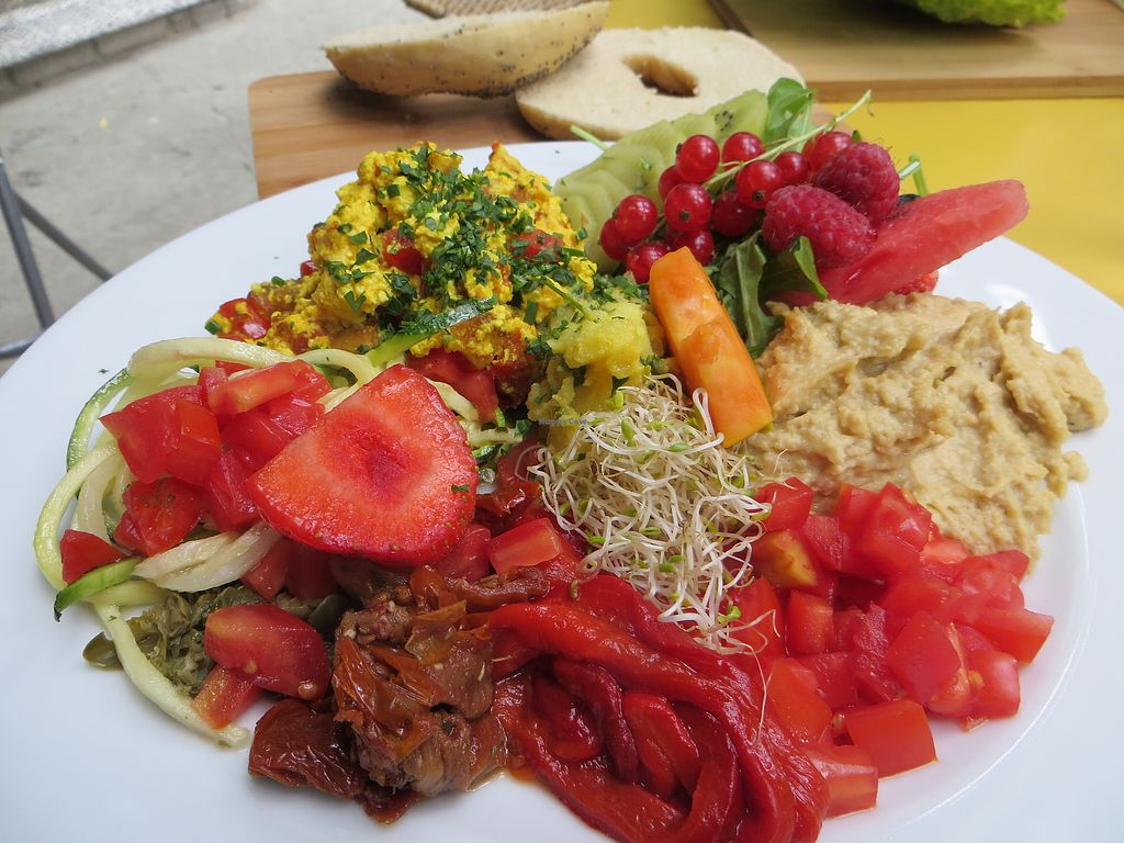 Photo of Biokeller Bistro  by NatalieBlanc <br/>Vegan breakfast <br/> July 9, 2017  - <a href='/contact/abuse/image/78503/278142'>Report</a>