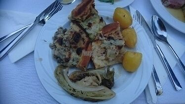 "Photo of Wohlfuhlhotel Goiserer Muhle  by <a href=""/members/profile/christa.fleck"">christa.fleck</a> <br/>3 types of quiche (onion, mushrooms and leek)  <br/> August 26, 2016  - <a href='/contact/abuse/image/78516/171486'>Report</a>"