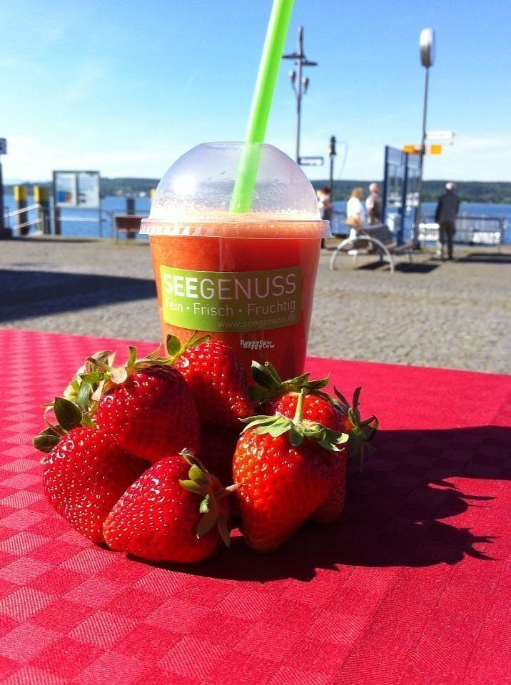"""Photo of Seegenuss  by <a href=""""/members/profile/community"""">community</a> <br/>strawberry smoothie  <br/> September 3, 2016  - <a href='/contact/abuse/image/78548/173216'>Report</a>"""