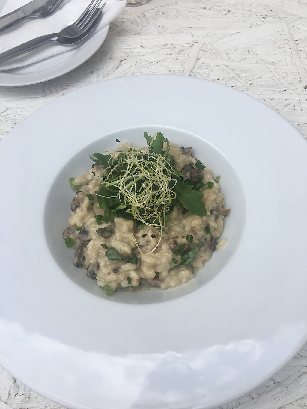 """Photo of Incruenti  by <a href=""""/members/profile/AndreaHafsi"""">AndreaHafsi</a> <br/>Mushrooms risotto  <br/> July 15, 2017  - <a href='/contact/abuse/image/78551/280743'>Report</a>"""