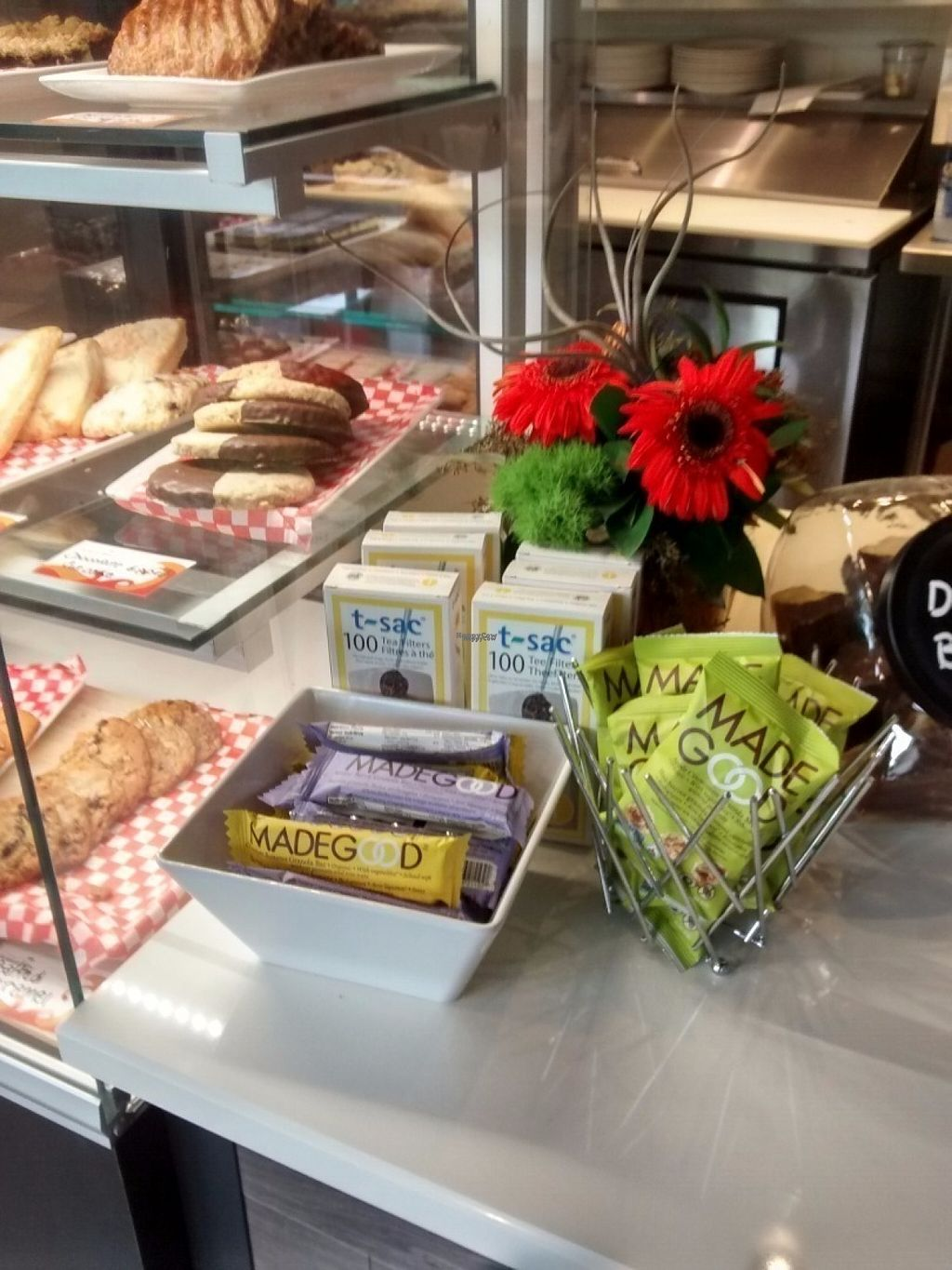 """Photo of The Nook Espresso Bar and Lounge  by <a href=""""/members/profile/QuothTheRaven"""">QuothTheRaven</a> <br/>Vegan bars <br/> August 18, 2016  - <a href='/contact/abuse/image/78554/169614'>Report</a>"""