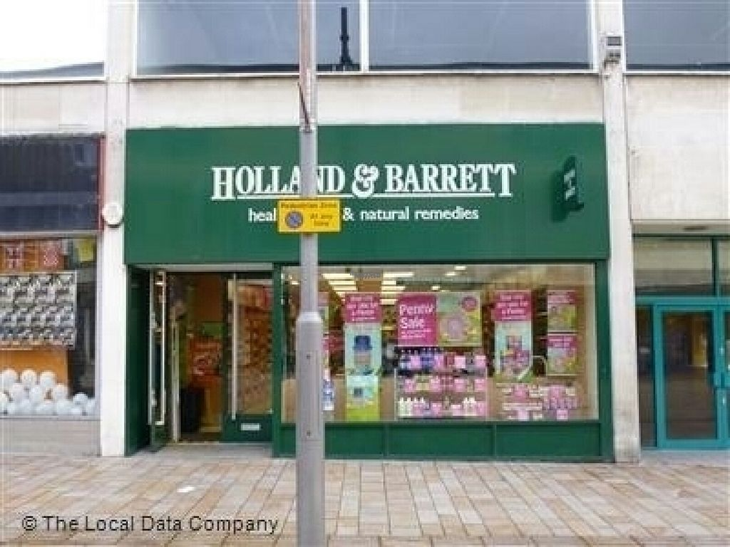 """Photo of Holland & Barrett - The Moor  by <a href=""""/members/profile/Meaks"""">Meaks</a> <br/>Holland & Barrett <br/> August 12, 2016  - <a href='/contact/abuse/image/78563/168023'>Report</a>"""