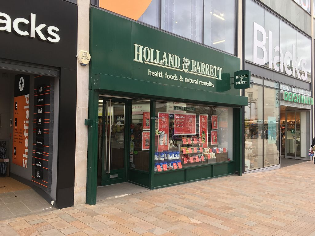 """Photo of Holland & Barrett - The Moor  by <a href=""""/members/profile/hack_man"""">hack_man</a> <br/>Exterior  <br/> March 23, 2018  - <a href='/contact/abuse/image/78563/374804'>Report</a>"""