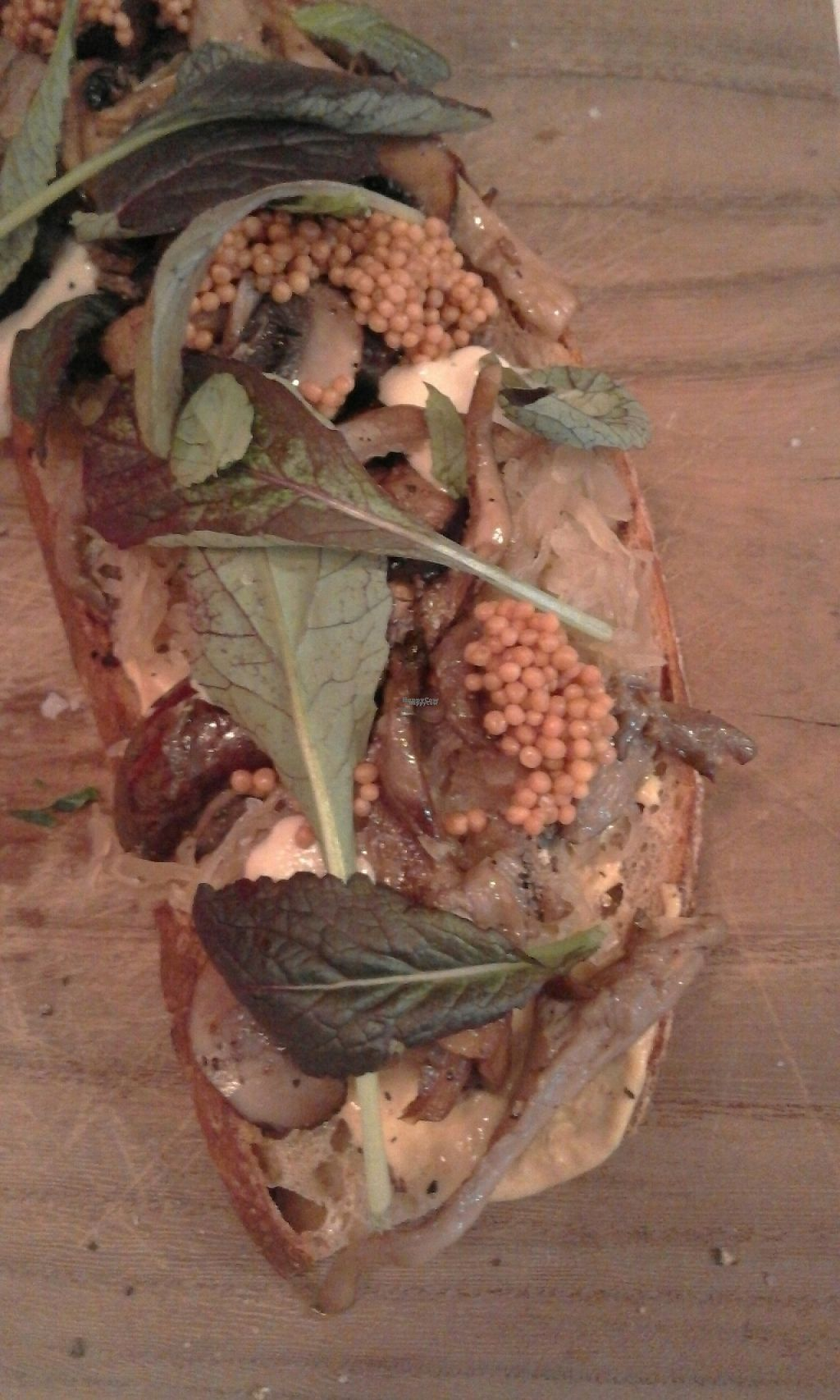 """Photo of Broei  by <a href=""""/members/profile/v_mdj"""">v_mdj</a> <br/>sandwich with myshrooms, sauerkraut and vegan cashewcream (instead of mayo) <br/> December 24, 2016  - <a href='/contact/abuse/image/78567/204542'>Report</a>"""