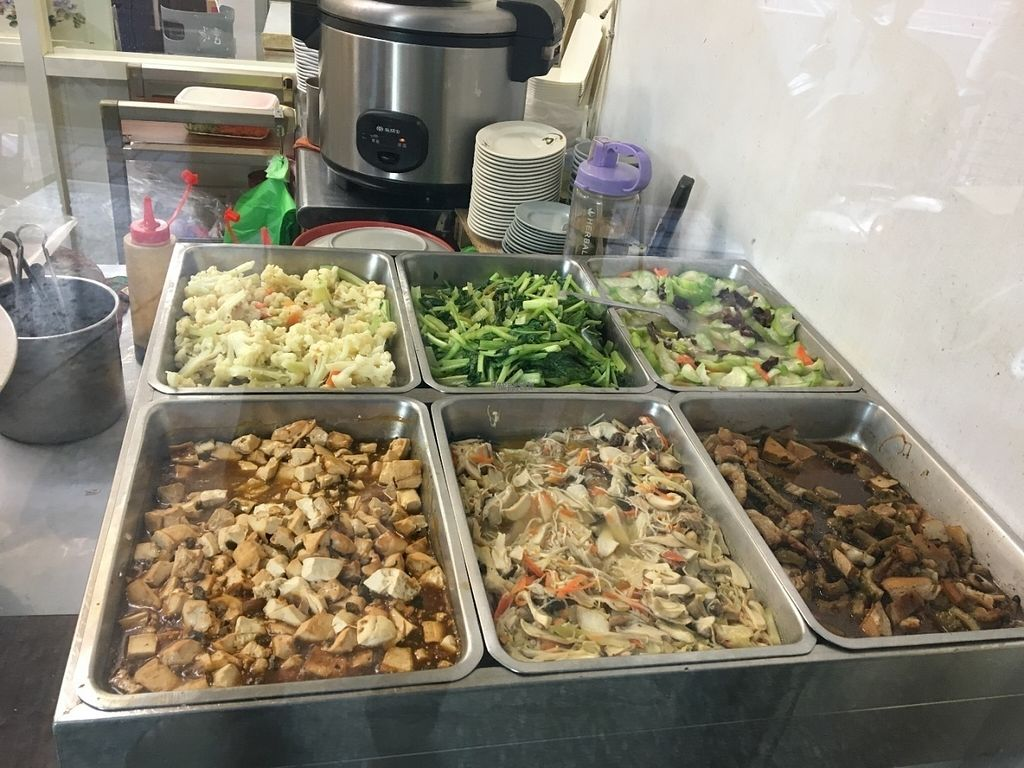 "Photo of Master Wang Vegetarian Restaurant  by <a href=""/members/profile/phillipguy"">phillipguy</a> <br/>Here's just a sample of their food. Very Taiwanese style <br/> August 14, 2016  - <a href='/contact/abuse/image/78577/168432'>Report</a>"