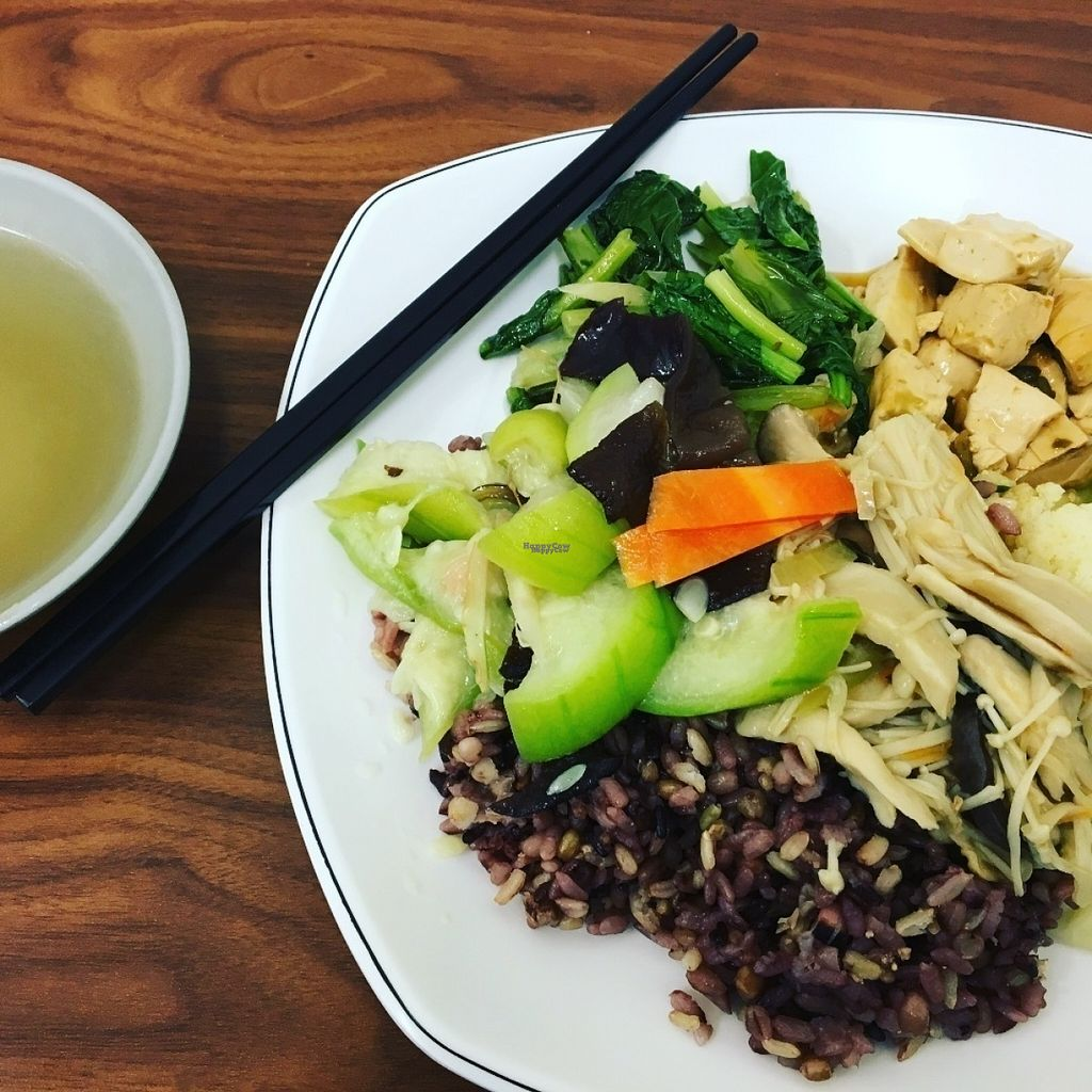 "Photo of Master Wang Vegetarian Restaurant  by <a href=""/members/profile/phillipguy"">phillipguy</a> <br/>簡餐十穀飯 <br/> August 14, 2016  - <a href='/contact/abuse/image/78577/168433'>Report</a>"