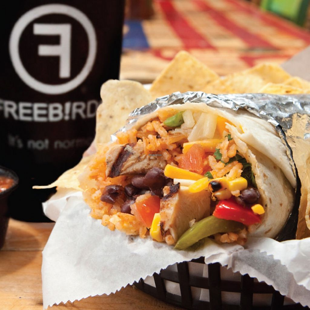 """Photo of Freebirds World Burrito  by <a href=""""/members/profile/ashleycrowder"""">ashleycrowder</a> <br/>  <br/> June 6, 2017  - <a href='/contact/abuse/image/78585/266350'>Report</a>"""