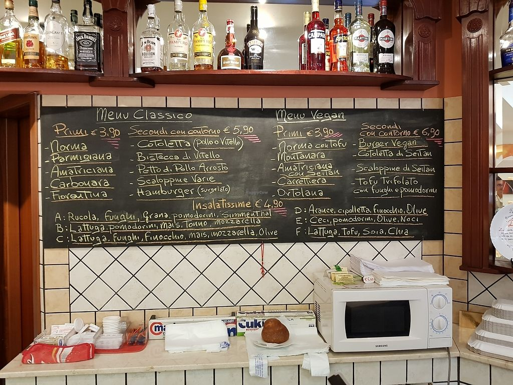 "Photo of Bar Dolcezza  by <a href=""/members/profile/autosblindo"">autosblindo</a> <br/>Primi e secondi vegani <br/> August 14, 2017  - <a href='/contact/abuse/image/78661/292624'>Report</a>"