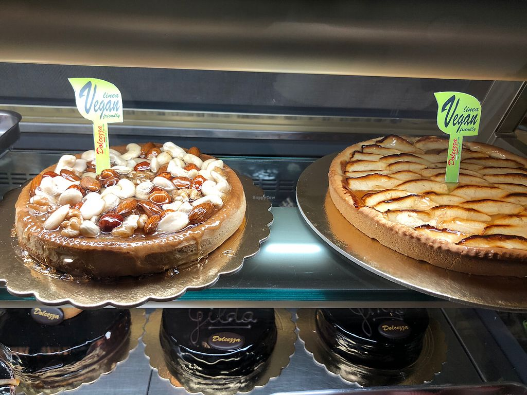 """Photo of Bar Dolcezza  by <a href=""""/members/profile/MonacoMel"""">MonacoMel</a> <br/>Large vegan tarts  <br/> April 20, 2018  - <a href='/contact/abuse/image/78661/388427'>Report</a>"""