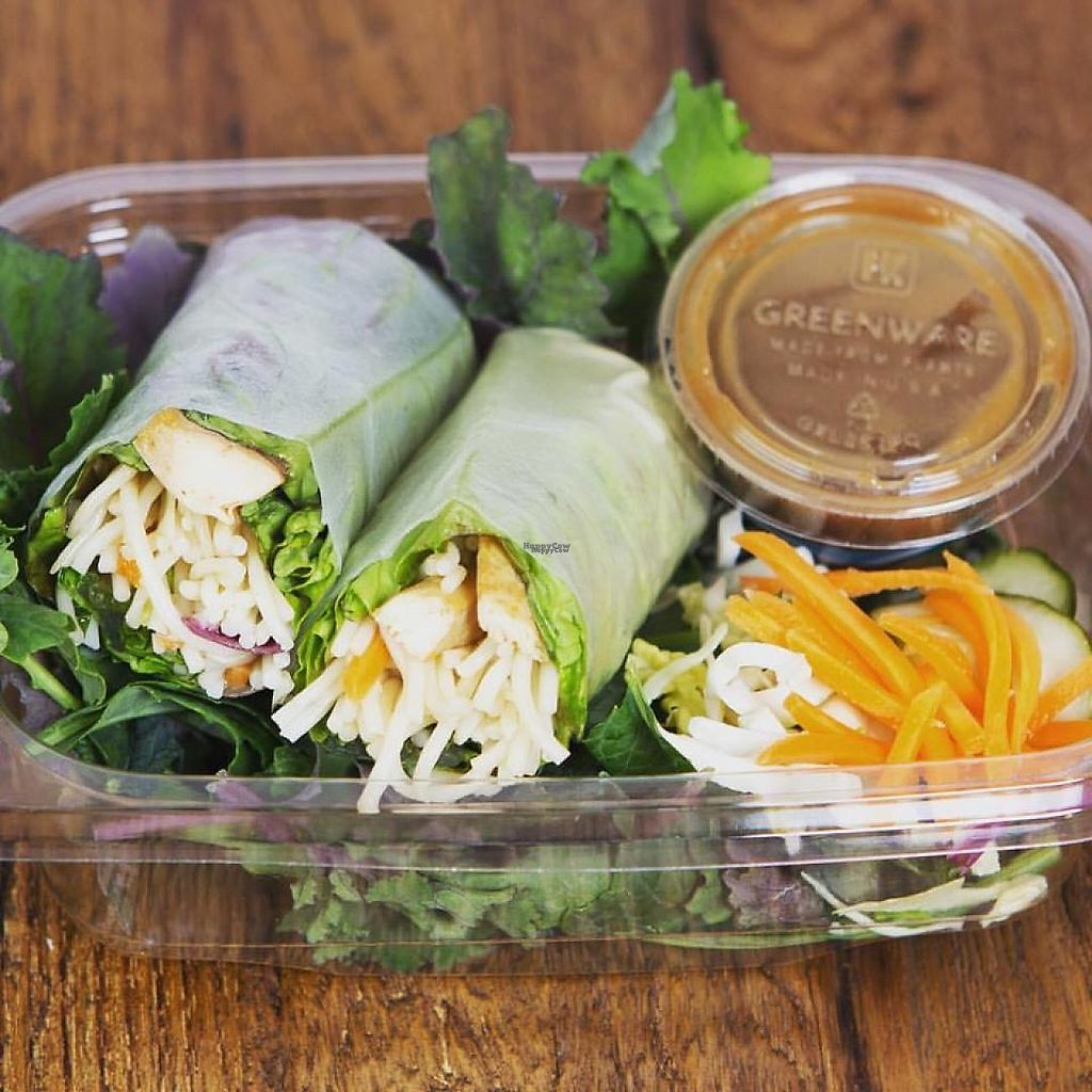 """Photo of Asian Box  by <a href=""""/members/profile/community"""">community</a> <br/>Organic tofu rolls. House-made Vinaigrette with Real Tamarind <br/> February 11, 2017  - <a href='/contact/abuse/image/78684/225137'>Report</a>"""